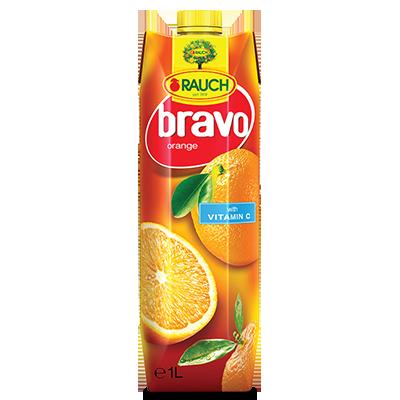 SOK RAUCH BRAVO POMORANDŽA 1L