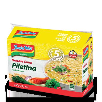 SUPA INSTANT INDOMIE PILETINA 350GR 5/1