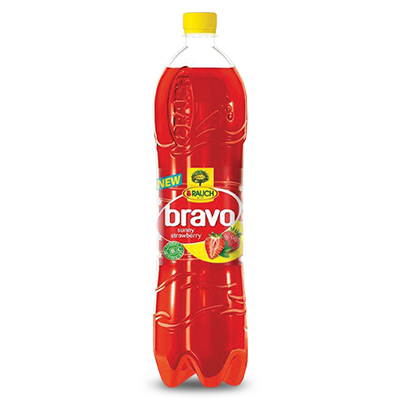 SOK RAUCH BRAVO SUNNY JAGODA PET 1.5L