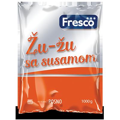 SMRZNUTO TESTO FRESCO ŽU-ŽU SA SUSAMOM 1KG