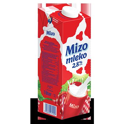 MLEKO MIZO UHT 2.8% 1L
