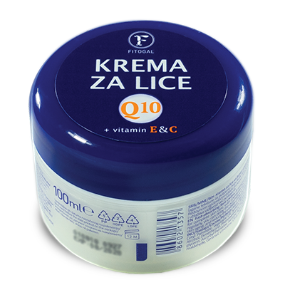 KREMA ZA LICE FITOGAL Q10 100ML