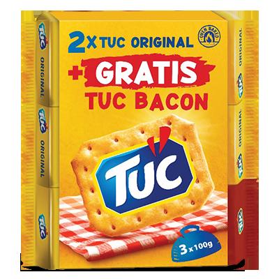 KREKER TUC 100G 2+1 GRATIS (2XORIGINAL + BACON)