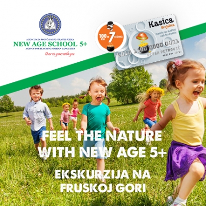 Feel the nature with New age 5+